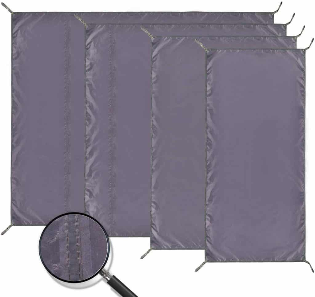 Moisture-Proof Insulated Tent Footprint Pad for Camping