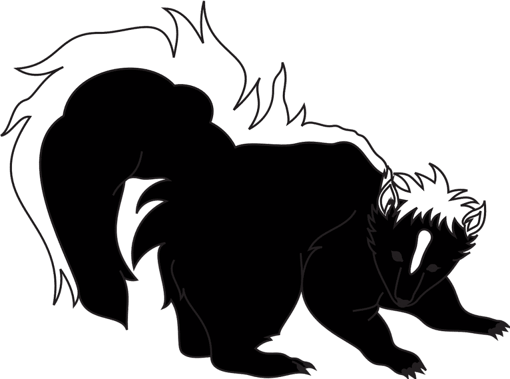 smelly skunk used to show how tents smell