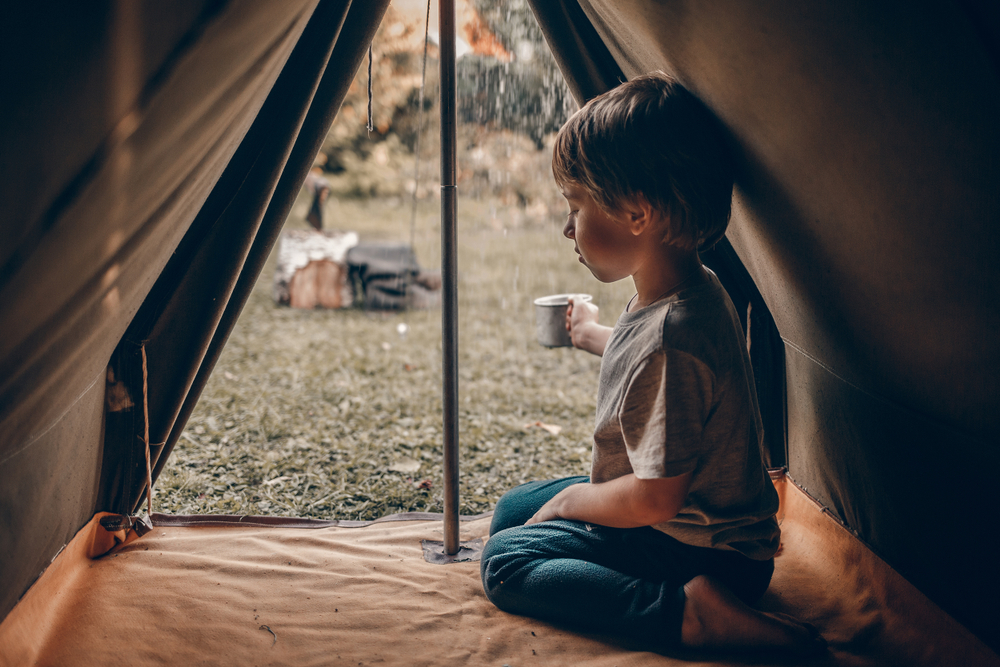 What to do if it rains during camping