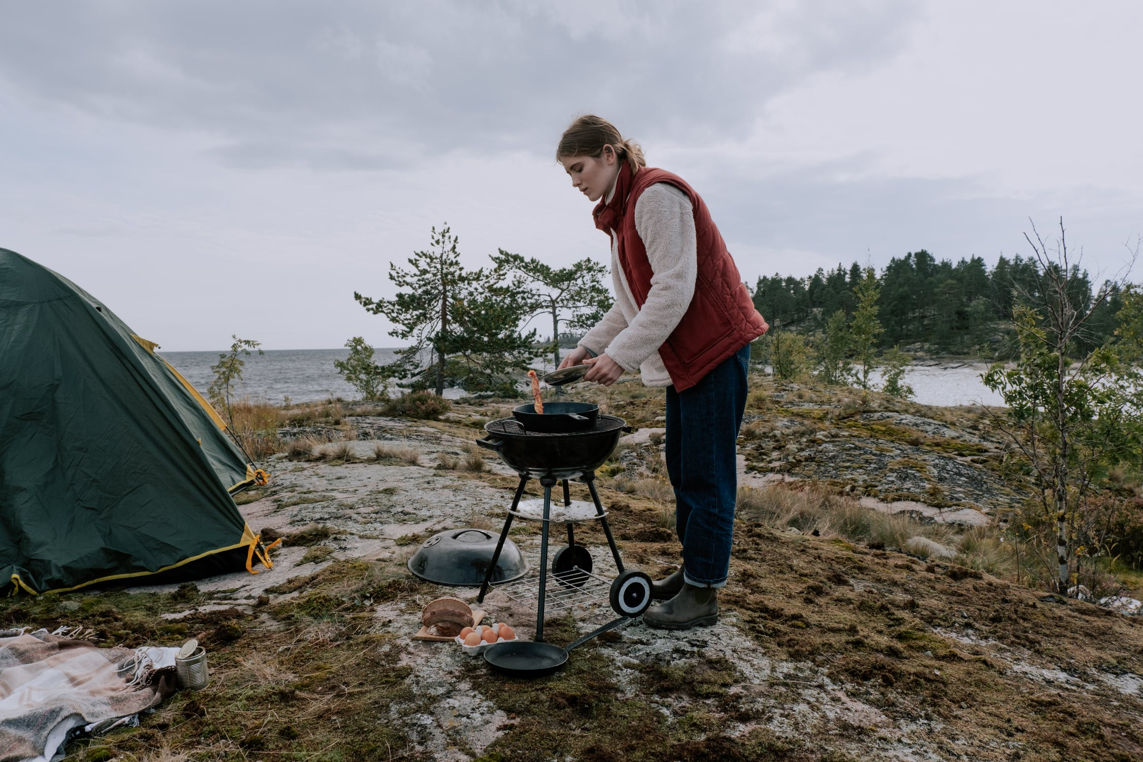 Is it safe to cook in a tent Is it safe to cook in a tent?
