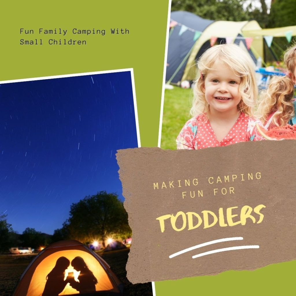 image 1 How do you make camping for toddlers fun?