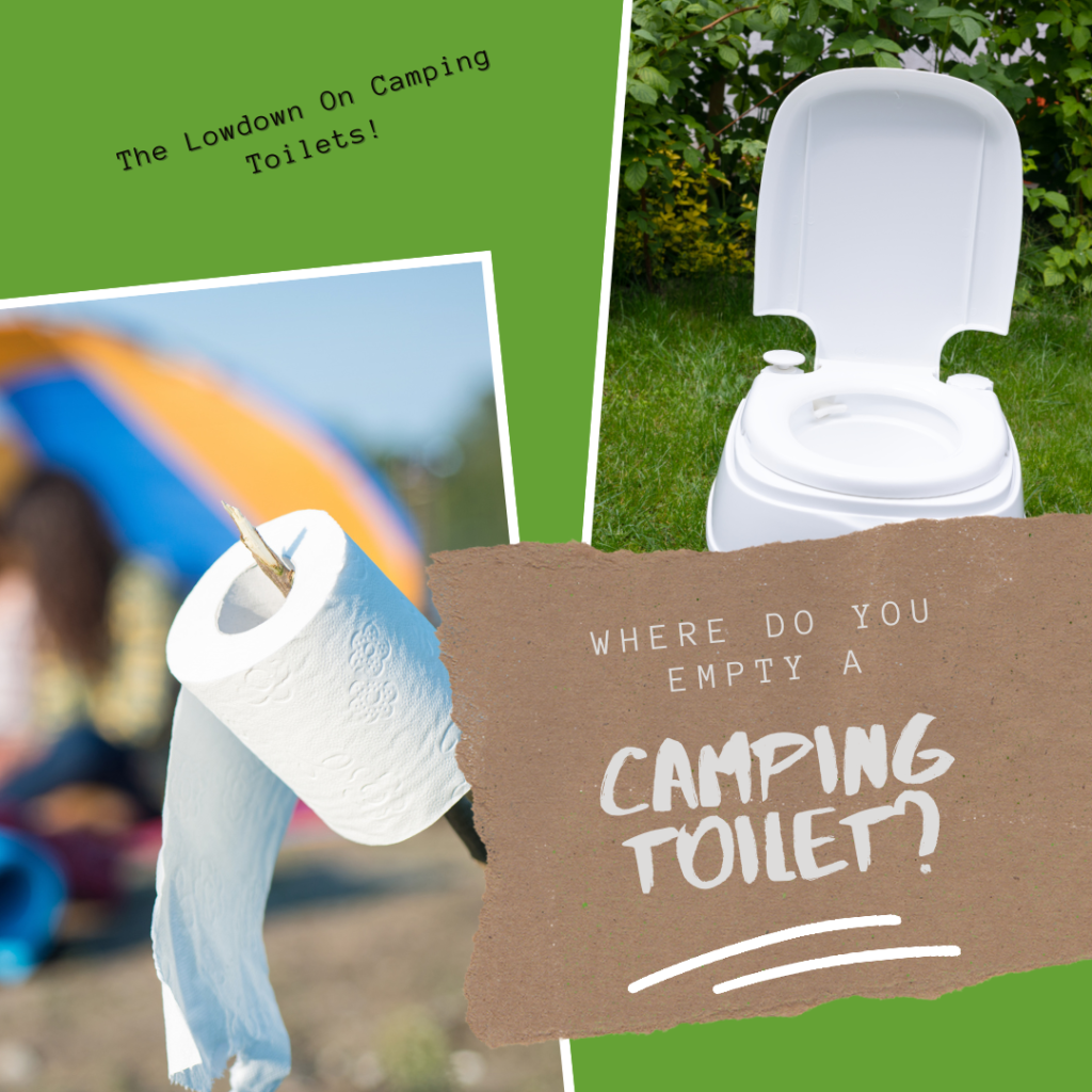 image Where Do You Empty a Camping Toilet?